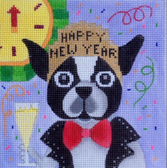 click here to view larger image of Bobs New Year Party (hand painted canvases)