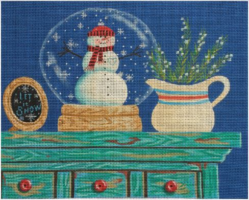 click here to view larger image of Let It Snow (hand painted canvases)