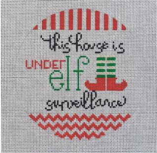 click here to view larger image of Elf Surveillance (hand painted canvases)