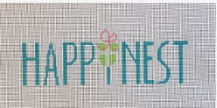 click here to view larger image of Happinest (hand painted canvases)
