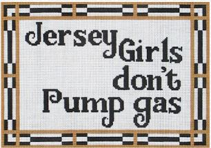click here to view larger image of Jersey Girls (hand painted canvases)