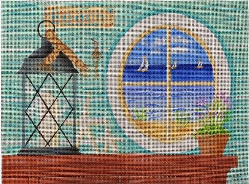 click here to view larger image of By the Sea (hand painted canvases)