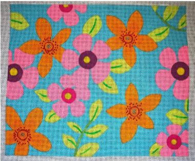 click here to view larger image of Flower Fields - Summer - 13M (hand painted canvases)