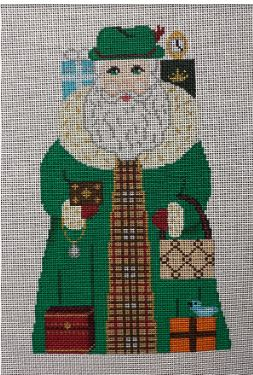 click here to view larger image of Fifth Avenue Santa (hand painted canvases)