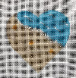 click here to view larger image of My Heart is at the Beach (hand painted canvases)