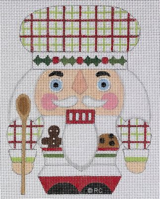 click here to view larger image of Baker Nutcracker (hand painted canvases)