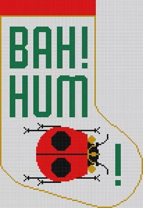 click here to view larger image of Bah Hum Bug (hand painted canvases)