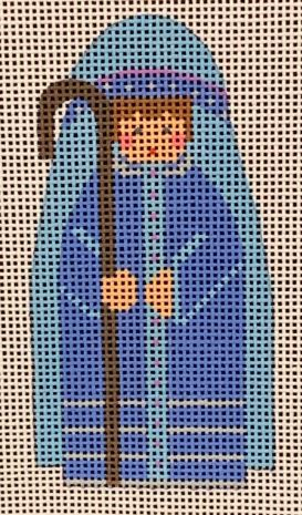 click here to view larger image of Nativity Shepherd Boy (hand painted canvases)