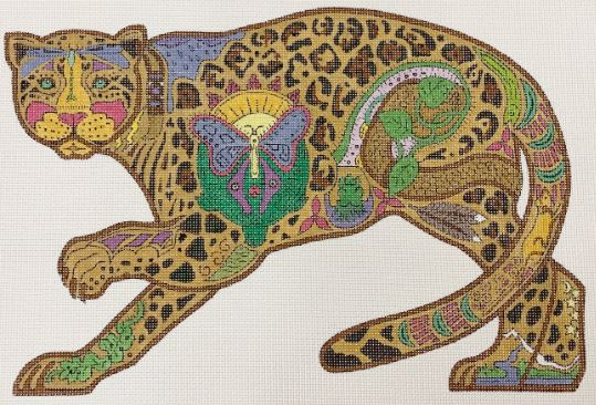 click here to view larger image of Jaguar (hand painted canvases)