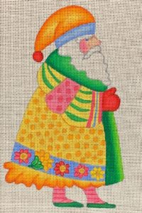 click here to view larger image of Provence Santa  (hand painted canvases)