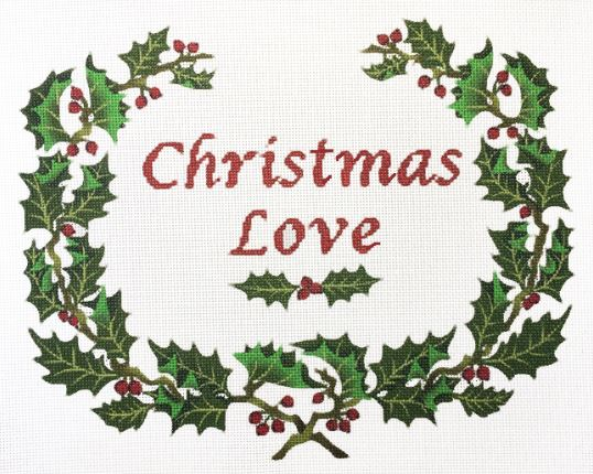 click here to view larger image of Christmas Love (hand painted canvases)