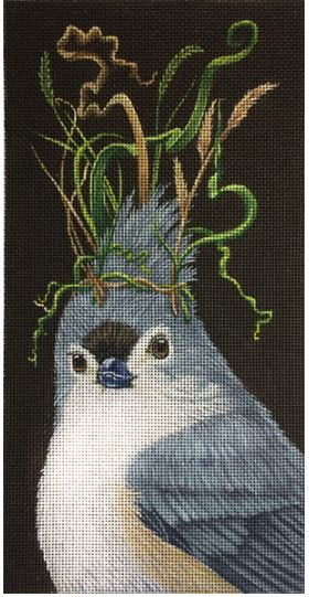 click here to view larger image of Delilah Titmouse (hand painted canvases)