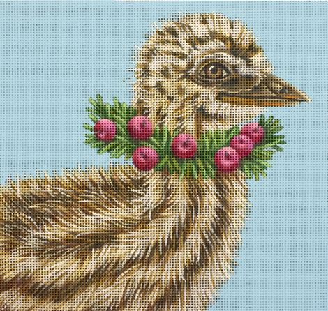 click here to view larger image of Baby Emu - Grant (hand painted canvases)