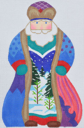 click here to view larger image of Russian Santa  (hand painted canvases)