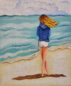 click here to view larger image of Stormy Beach (hand painted canvases)