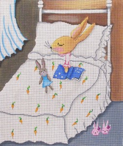click here to view larger image of Bedtime Bunny (hand painted canvases)