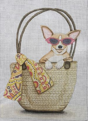Chihuahua in a Purse - click here for more details