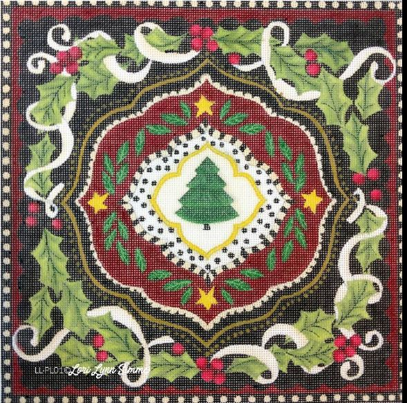 click here to view larger image of Dutch Christmas Tree (hand painted canvases)