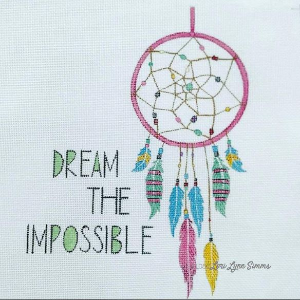 click here to view larger image of Dream the Impossible (hand painted canvases)