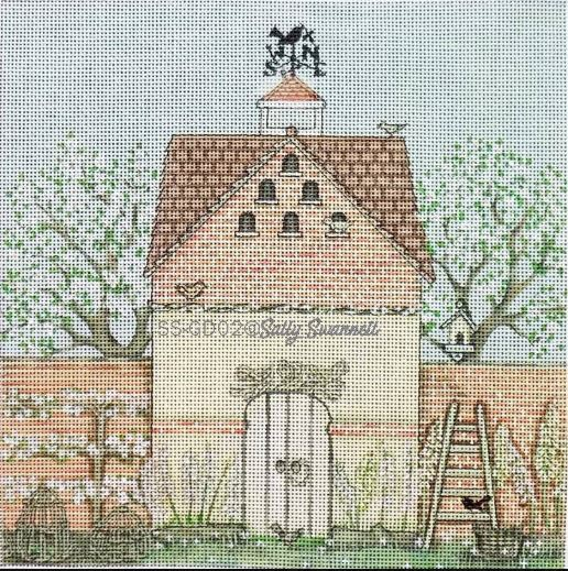 click here to view larger image of Dovecote  (hand painted canvases)