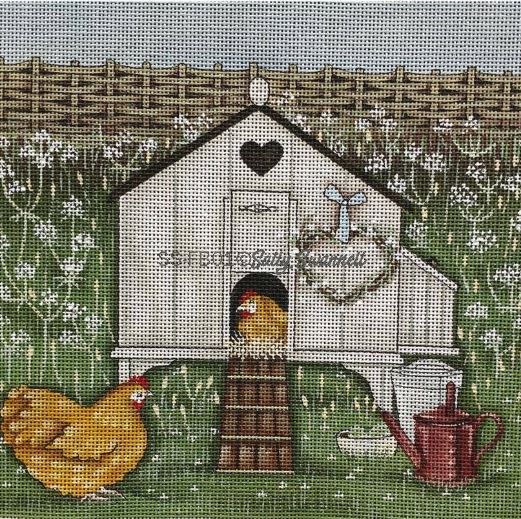 click here to view larger image of Hen House (hand painted canvases)