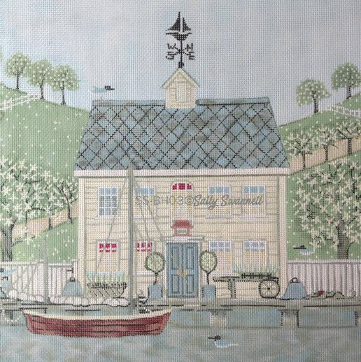 click here to view larger image of Captains House (hand painted canvases)