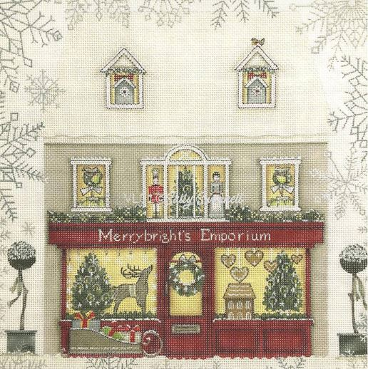 click here to view larger image of Merrybrights Emporium (hand painted canvases)