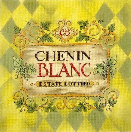 click here to view larger image of Chenin Blanc (hand painted canvases)