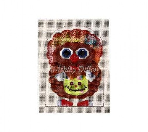 click here to view larger image of Clown Owl (hand painted canvases)