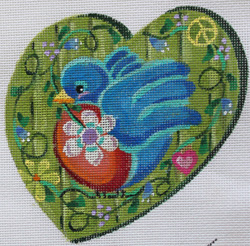 click here to view larger image of Lonely Hearts Club - Peace Dove (hand painted canvases)