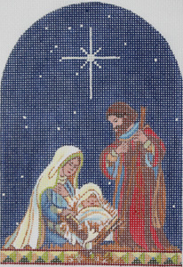 click here to view larger image of Holy Family, The (hand painted canvases)