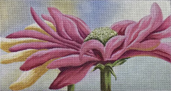click here to view larger image of Gerbera Shine (hand painted canvases)