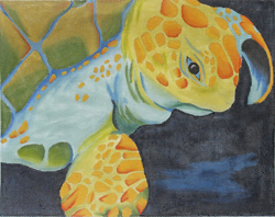 click here to view larger image of Sea Traveler (hand painted canvases)