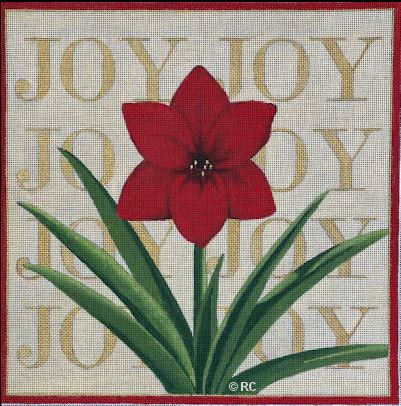 click here to view larger image of Amaryllis Joy (hand painted canvases)
