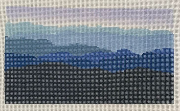 click here to view larger image of Blue Ridge Mountain Range (hand painted canvases)