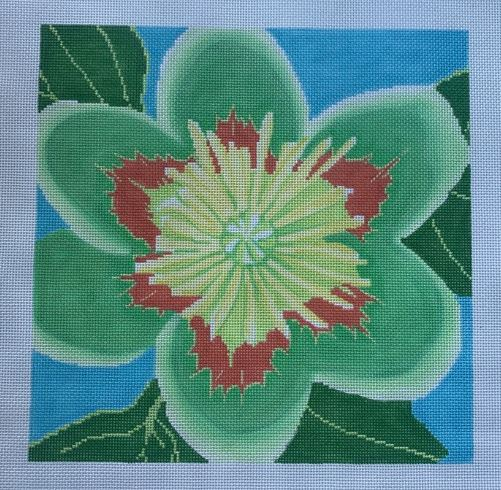click here to view larger image of Tulip Poplar Blossom (hand painted canvases)