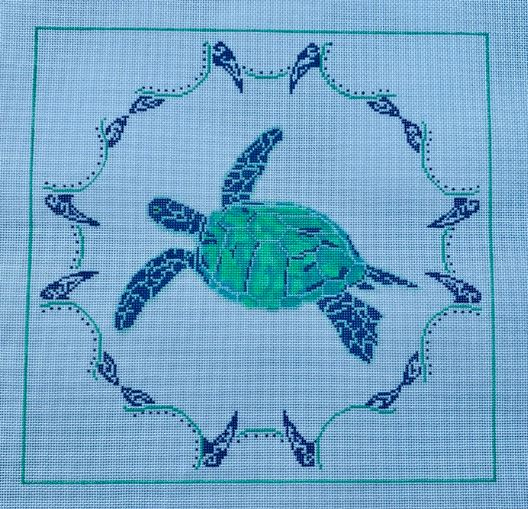 click here to view larger image of Honu (Sea Turtle)  (hand painted canvases)