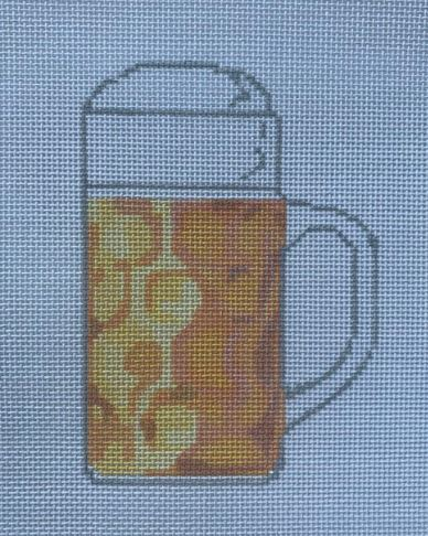 click here to view larger image of Oktoberfest Bier  (hand painted canvases)