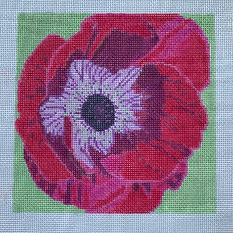 click here to view larger image of Anemone (hand painted canvases)