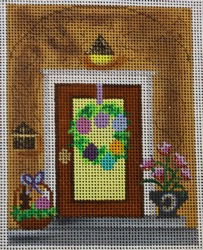 click here to view larger image of Easter Door (hand painted canvases)