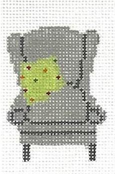 click here to view larger image of PDQ (Pretty Darn Quick) Kit - Chair (needlepoint kits)