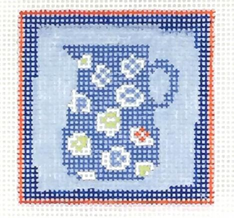 click here to view larger image of First Stitch Kit - Pitcher (needlepoint kits)