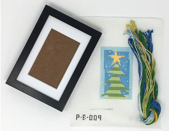click here to view larger image of First Stitch Kit - Tree (needlepoint kits)