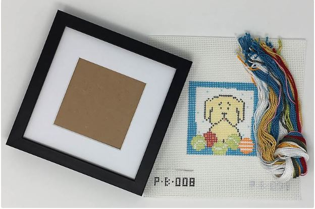 click here to view larger image of First Stitch Kit - Dog (needlepoint kits)