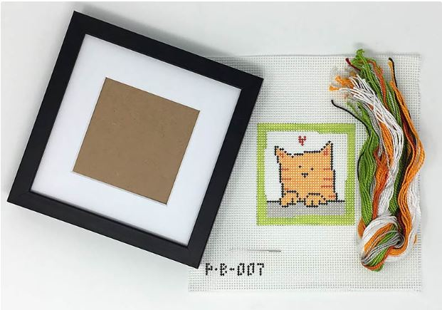 First Stitch Kit - Cat - click here for more details