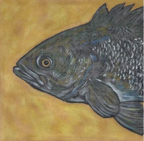 click here to view larger image of Fish Head (hand painted canvases)