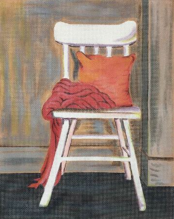 click here to view larger image of Taras Chair (hand painted canvases)