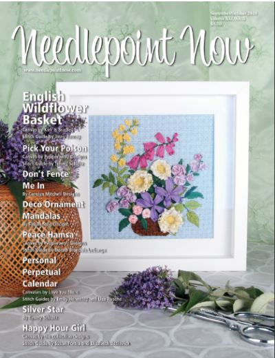 click here to view larger image of Needlepoint Now - September / October 2019 (Magazines)