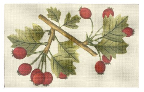 click here to view larger image of Berry Branch (hand painted canvases)