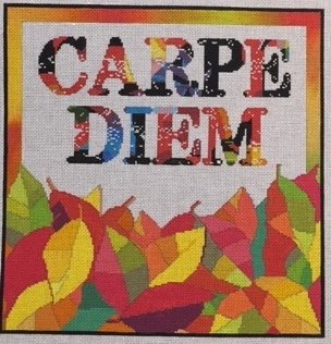 click here to view larger image of Carpe Diem (hand painted canvases)